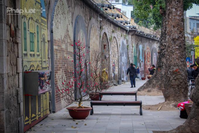 """Dự án """"Bích họa trên phố Phùng Hưng"""" được xây dựng trên cơ sở chương trình"""