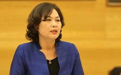 Phó Thống đốc NHNN Nguyễn Thị Hồng (Nguồn: KT)