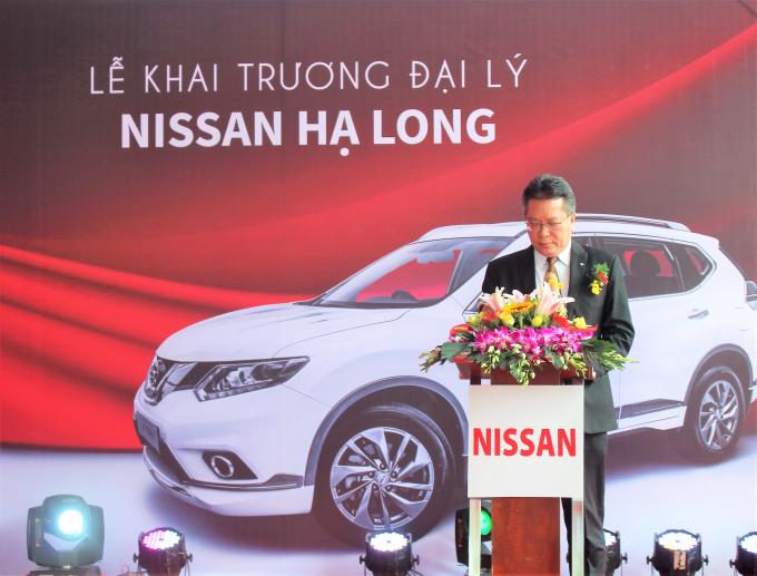 Giám đốc thương mại Nissan Việt Nam ông TehKim Hwaphát biểu