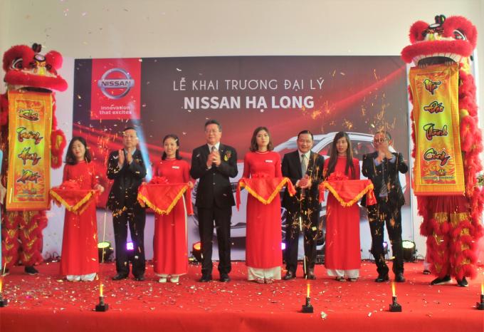 Nissan Việt Nam và ASC Group tổ chức khai trương đại lý mới – Nissan Hạ Longtheo tiêu chuẩn mới nhất của Nhật Bản