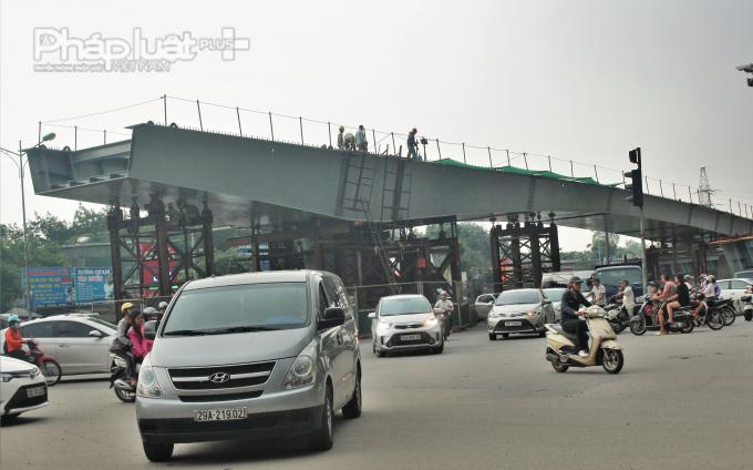 Theo phương án thiết kế, toàn bộ cầu vượt nút giao An Dương Vương - Thanh Niên sẽ bao gồm 7 nhịp, dài từ 30 - 45 - 60m