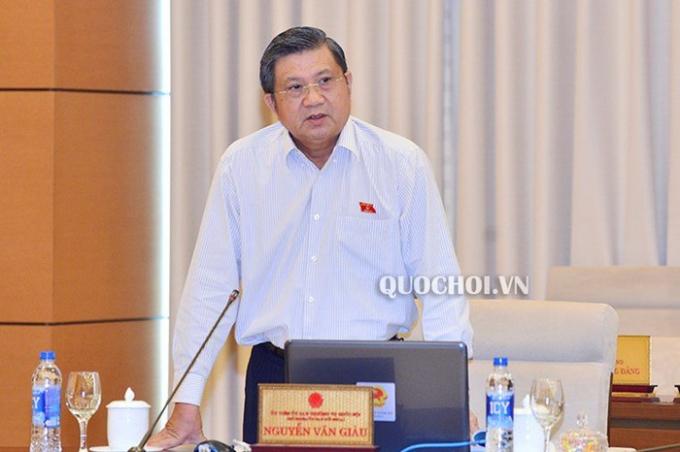 Chủ nhiệm UB Đối Ngoại Nguyễn Văn Giàu