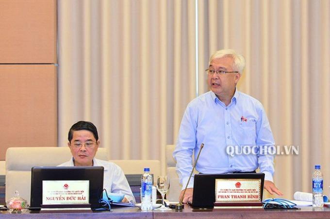 Theo Chủ nhiệm UB Văn hóa, Giáo dục, Thanh niên, Thiếu niên và Nhi đồng Phan Thanh Bình