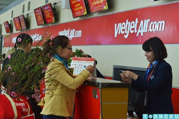 """VietJet Air """"tung"""" vé máy bay Tết 2019 giá rẻ đợt đầu tiên"""