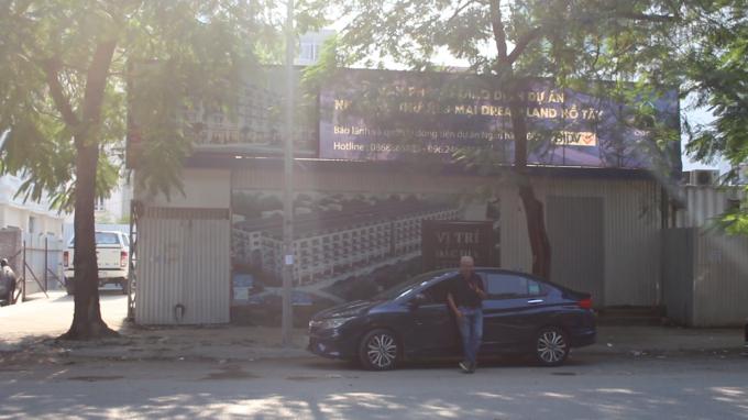 Dự án từng bịUBND phường An Tảo ra quyết định đình chỉ vào năm 2017