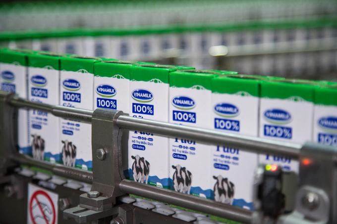 Sản phẩm sữa Vinamilk thân thuộc với người tiêu dùng