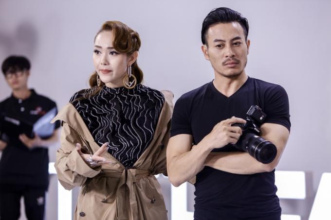 """Trong quá trình thực hiện thử thách """"Ngon khó cưỡng"""", bà Trần Uyên Phương đã lên tiếng góp ý cho đội Minh Hằng."""