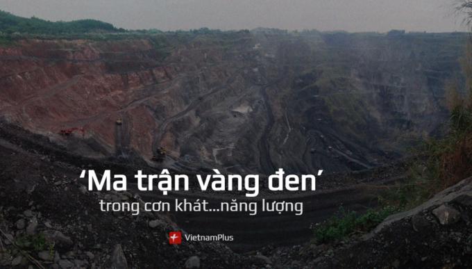 """Hoạt động khai thác, tẩu tán than lậu diễn ra """"nóng bỏng"""" ở nhiều vùng đất mỏ. (Ảnh: P.V/Vietnam+)"""