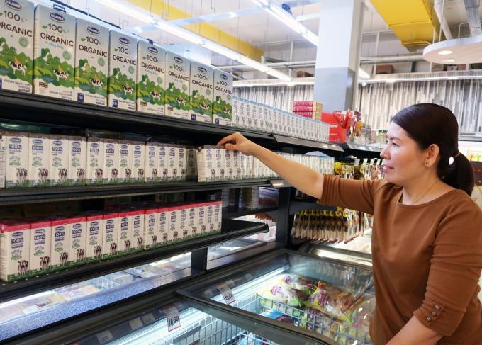 Các sản phẩm sữa tươi của Vinamilk vốn rất quen thuộc tại Việt Nam nay đã có thể tìm mua dễ dàng tại Singapore