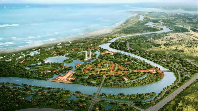 Tương lai của BĐS Nam Đà Nẵng là hình thành những khu đô thị sinh thái ven sông Cổ Cò.