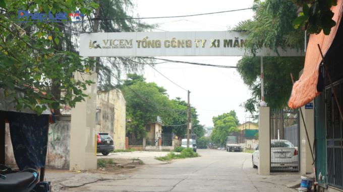 Lô đất tiếp theo có diện tích 52.083 m2 tại ngõ 122 Vĩnh Tuy, quận Hai Bà Trưng, Hà Nội. Ảnh Hải Lê.