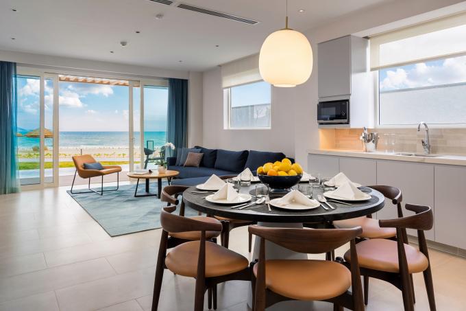 Gần 600 căn hộ và biệt thự tại ALMA resort đều có tầm nhìn hướng biển