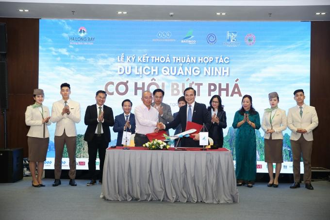 Ký kết thỏa thuận hợp tác Du lịch Quảng Ninh – Cơ hội bứt phá
