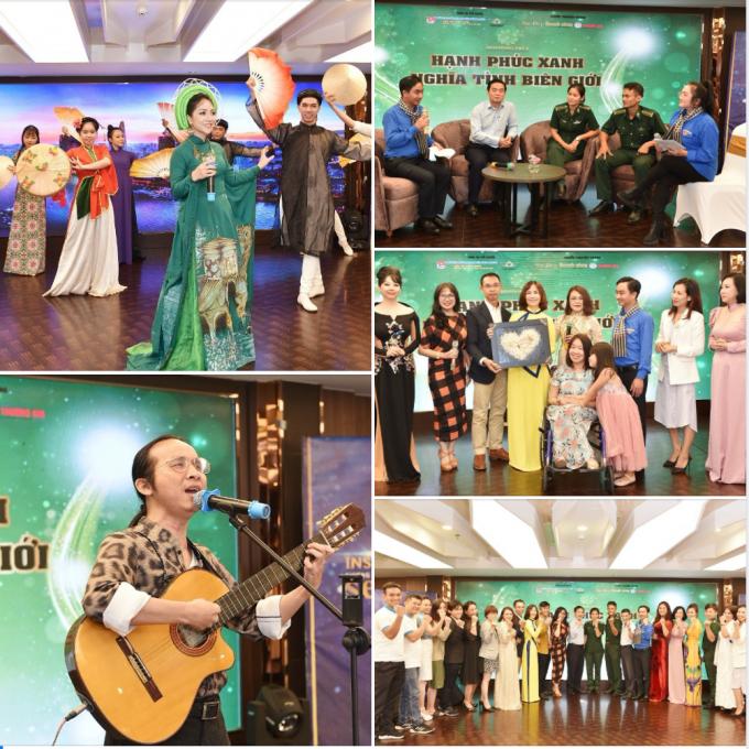 """Đêm nhạc thiện nguyện """"Hạnh phúc xanh - nghĩa tình biên giới"""" đã khởi động hàng loạt các hoạt động của tuổi trẻ toàn tỉnh Bình Phước hướng về vùng lũ"""