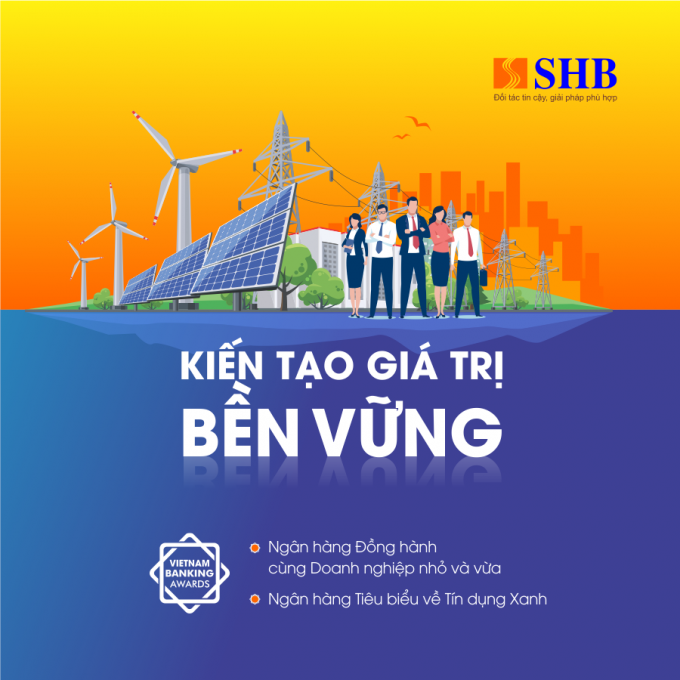 Hai giải thưởng này sẽ trở thành nguồn động lực mạnh mẽ, thúc đẩy SHB phát triển toàn diện cả về quy mô, hiệu quả và chất lượng trên thị trường Tài chính – Ngân hàng trong nước và quốc tế.