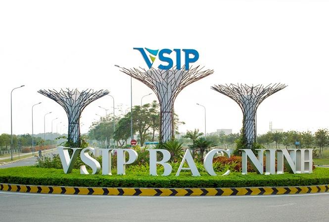 Khu đô thị và dịch vụ VSIP Bắc Ninh . Ảnh: Cafeland