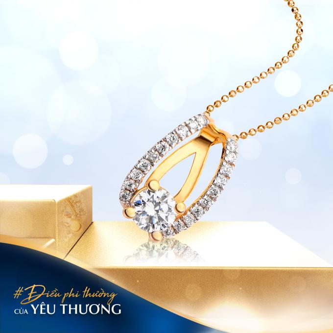 Trang sức kim cương luôn là sản phẩm quà tặng đẳng cấp, lựa chọn hàng đầu.