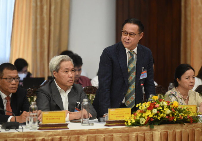 Ông Nguyễn Quốc Khanh, Chủ tịch Hội Mỹ nghệ và Chế biến gỗ TPHCM cho biết năm 2020 các doanh nghiệp ngành gỗ đã tận dụng được cơ hội từ việc kiểm soát dịch bệnh COVID-19 trong nước. Ảnh: VGP/Quang Hiếu