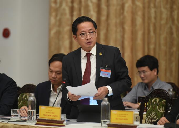 Ông Trần Kim Chung, Chủ tịch CT Group là người đã rất nhiều năm truyền lửa cho nhiều thế hệ thanh niên TPHCM. Ảnh: VGP/Quang Hiếu
