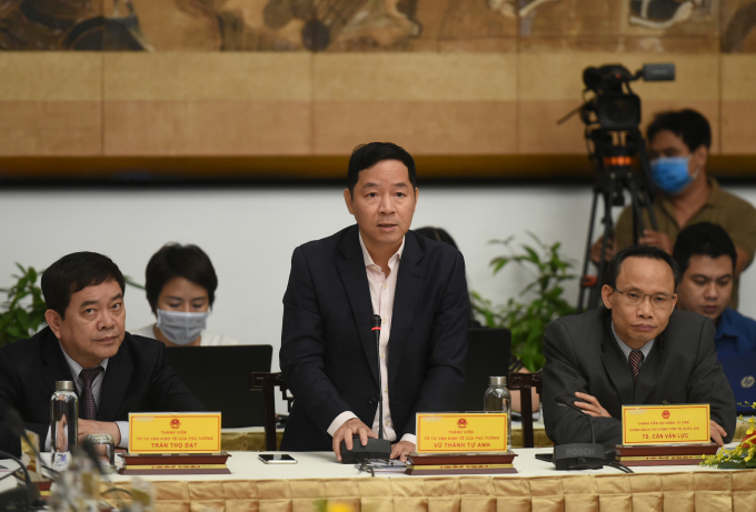 Ông Vũ Thành Tự Anh, Thành viên Tư vấn tổ kinh tế của Thủ tướng: Lực lượng doanh nghiệp Việt Nam vô cùng vững chắc và sẽ đóng vai trò lớn hơn nữa trong 25 năm tới. Ảnh: VGP/Quang Hiếu