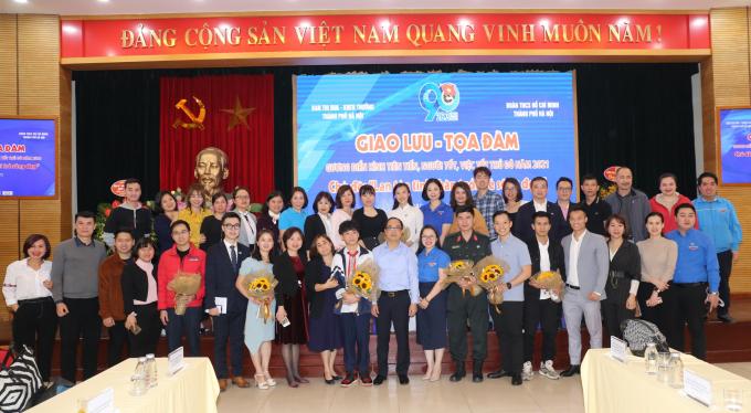 Báo Tuổi trẻ Thủ đô phối hợp cùng Ban Thi đua khen thưởng TP Hà Nội và Quận đoàn Hoàn Kiếm tổ chức chương trình Giao lưu - Tọa đàm Gương điển hình tiên tiến, người tốt, việc tốt Thủ đô năm 2021