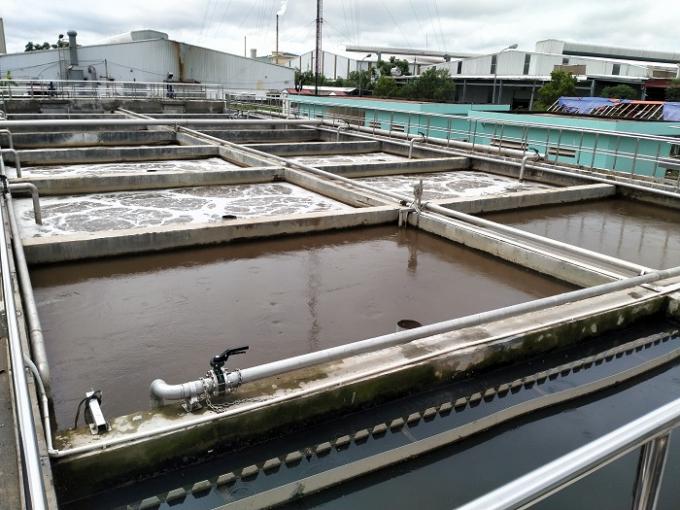 Trạm xử lý nước thải KCN Đình Trám công suất 2000m3-ngày đêm được vận hành tự động