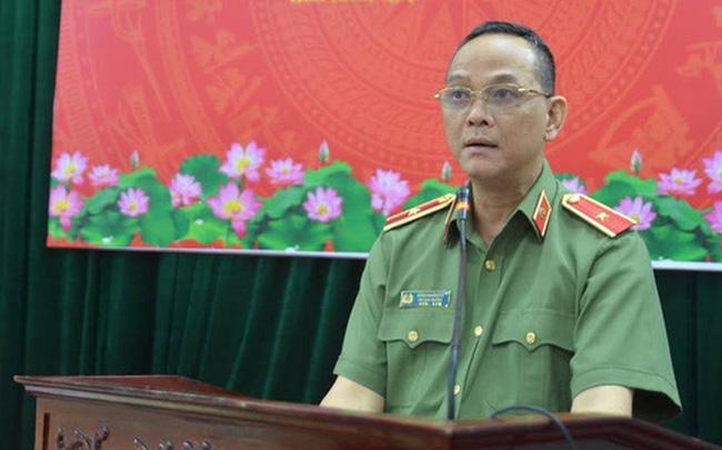 Thiếu tướng Đặng Hoàng Đa. Ảnh: Báo CAND