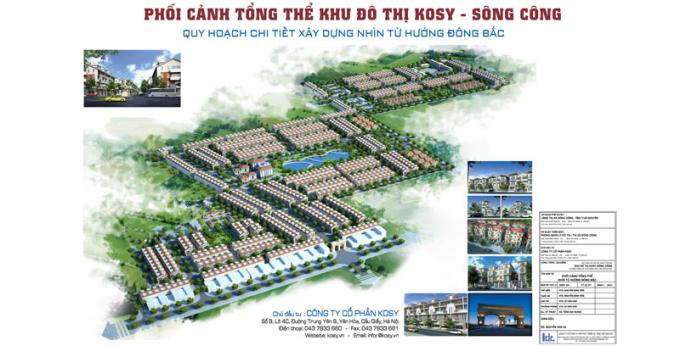 Phối cảnh dự án (Nguồn: Tập đoàn Kosy)