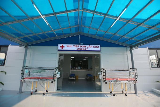 BV điều trị Covid-19- Y Hà Nội được bố trí trang thiết bị y tế hiện đại (1)