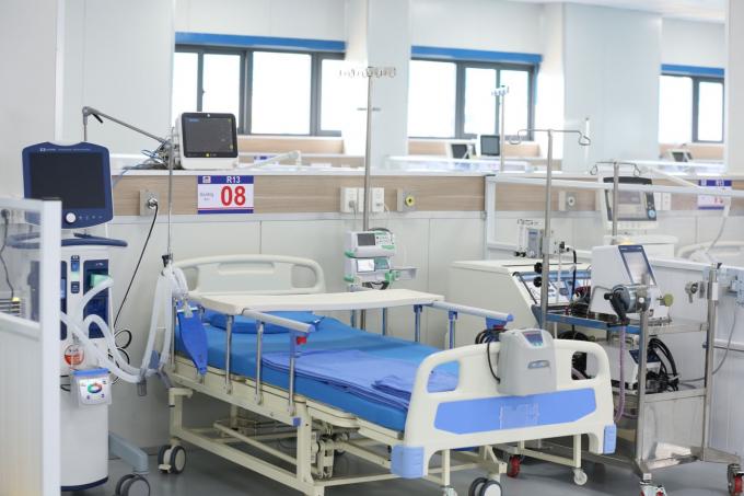 BV điều trị Covid-19- Y Hà Nội được bố trí trang thiết bị y tế hiện đại.