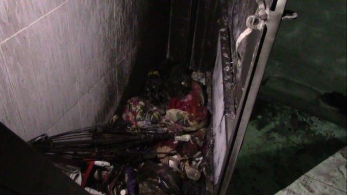 Nhiều đồ đạc bị cháy rụi