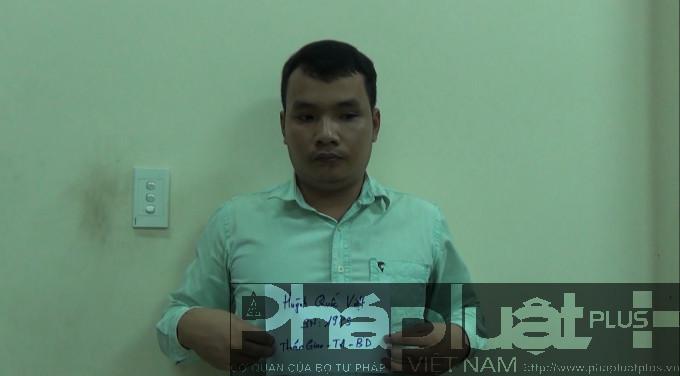 Đối tượng Huỳnh Quốc Việt.