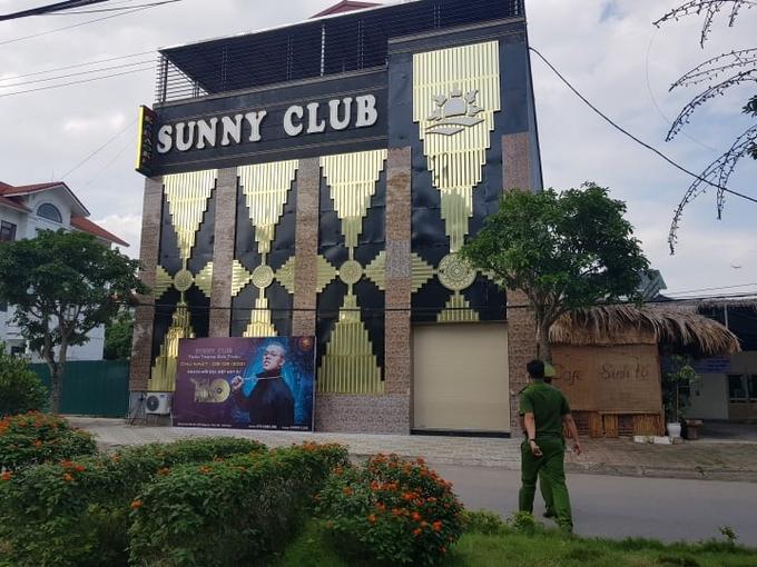 Quán bar Sunny tại Vĩnh Phúc. Ảnh:V.Thu