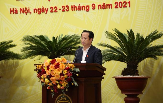 Giám đốc Sở GD&ĐT Hà Nội Trần Thế Cương.