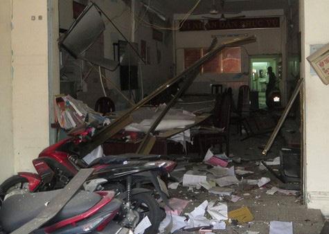 Xét xử vụ đặt chất nổ khủng bố tại trụ sở công an phường từ ngày 21/9