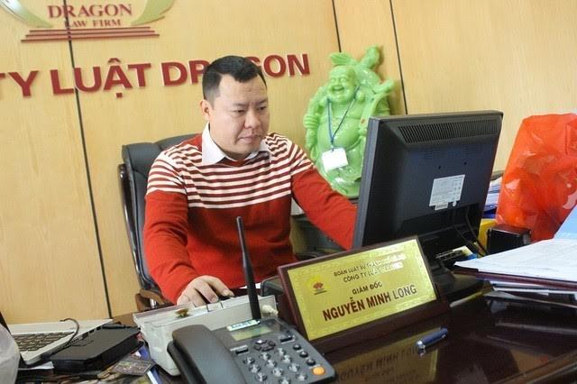 Luật sư Nguyễn Minh Long - Giám đốc Công ty Luật Dragon