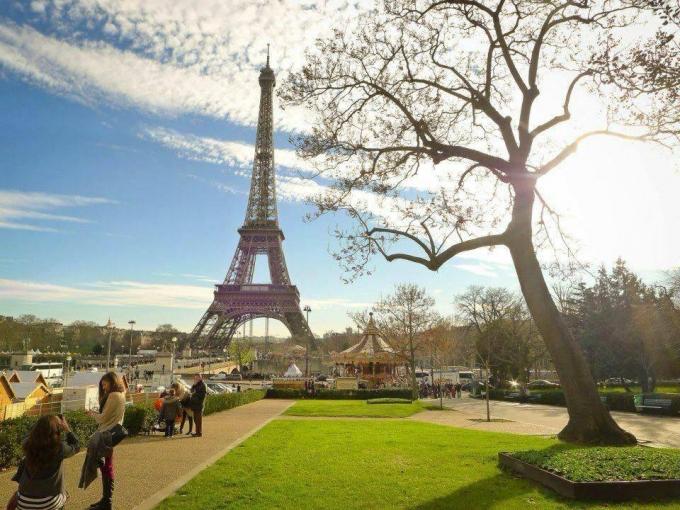 Paris - Pháp là một trong những địa danh du lịch hút khách. (ảnh Thanh Huyền)