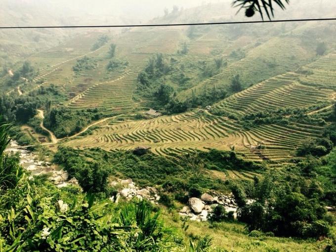 Góc nhỏ nơi bản làng Y Tý - Bát Xát - Lào Cai (ảnh Thanh Huyền)