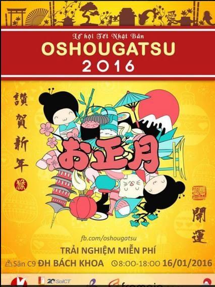 Lê hộivăn hóa Nhật Bản Oshougatsu 2016