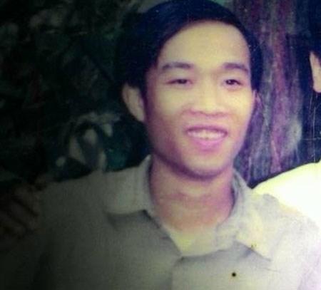 Chân dung anh Nguyễn Văn Triển. ( Ảnh do gia đình cung cấp)