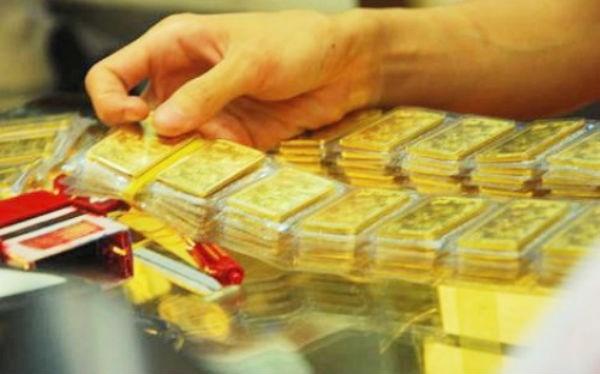 Hôm nay (1/6), giá vàng đã bắt đầu tăng trở lại (Ảnh minh họa).