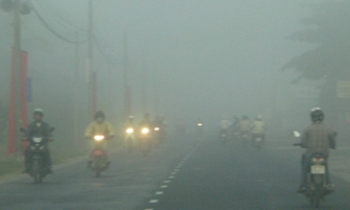 Bắc Bộ có sương mù nhẹ rải rác, trời rét.