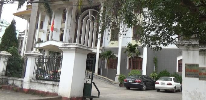 Trụ sở của Sở Giáo dục và Đào tạo tình Bắc Giang.