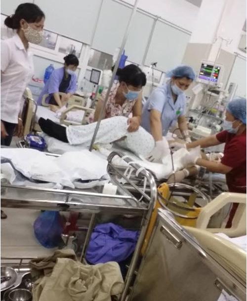 Sản phụ chết do đông máu và đờ tử cung sau sinh.