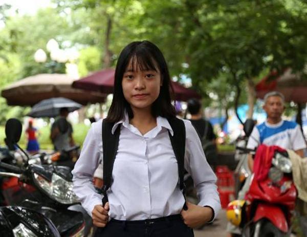 Em Nguyễn Thu An (học sinh trường THPT Hoàng Cầu) đánh giá: