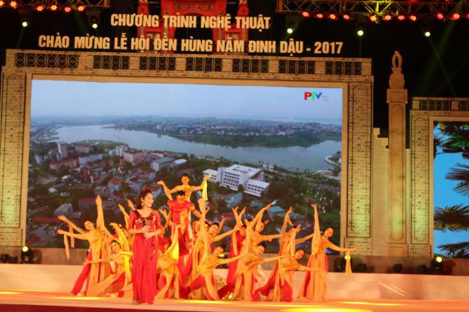 """Lễ hội Đền Hùng 2017: """"Linh thiêng nguồn cội - Đất Tổ Hùng Vương"""""""