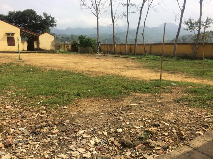 Mộtngười dân xóm Dụ tiết lộ đây là sân tập bóng đầu tiên của chàng tiền đạo Hà Đức Chinh.