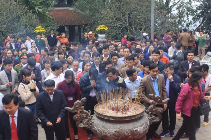 Lễ hội Đền Hùng 2018 được tổ chức trong 5 ngày, từ 21 đến 25/4 (tức từ ngày mùng 6 đến mùng 10 tháng 3 năm Mậu Tuất).
