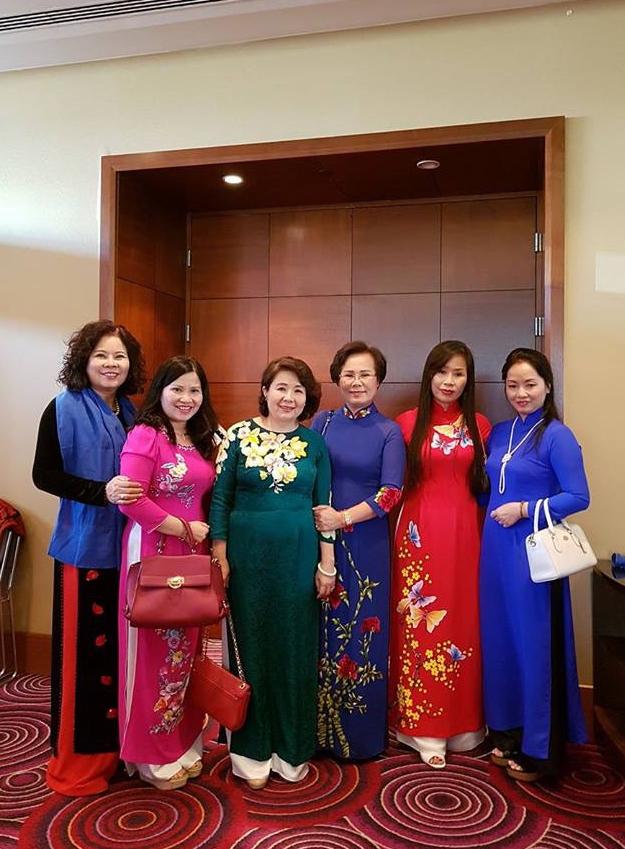 Các nữ Doanh nhân tham dự Hội nghị.
