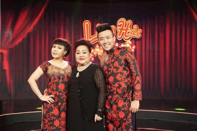Ban giám khảo cuộc thi Làng Hài Mở Hội.